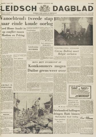 Leidsch Dagblad 1963-08-06