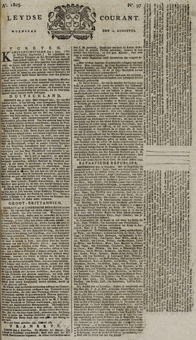 Leydse Courant 1805-08-14