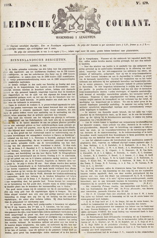 Leydse Courant 1883-08-01