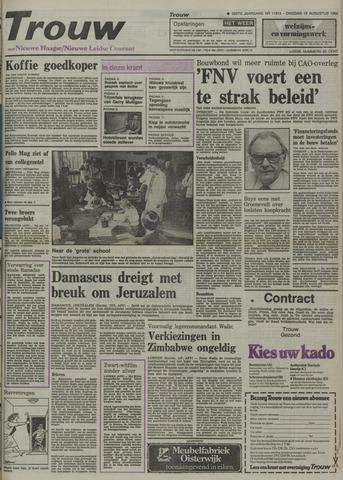 Nieuwe Leidsche Courant 1980-08-12