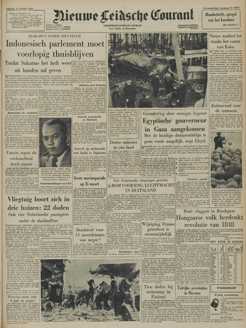 Nieuwe Leidsche Courant 1957-03-15