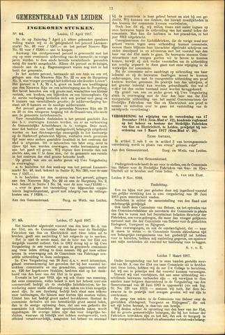 Handelingen van de Raad 1917-04-17