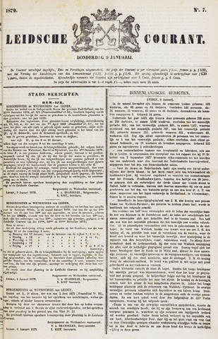 Leydse Courant 1879-01-09