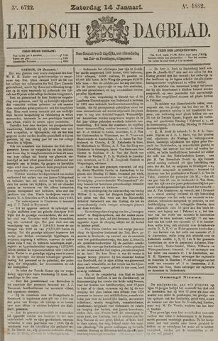 Leidsch Dagblad 1882-01-14