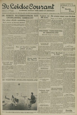 Leidse Courant 1952-11-17
