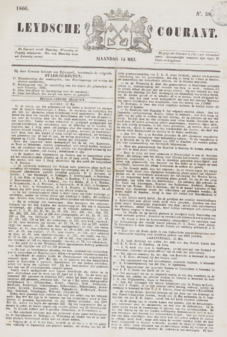 Leydse Courant 1866-05-14