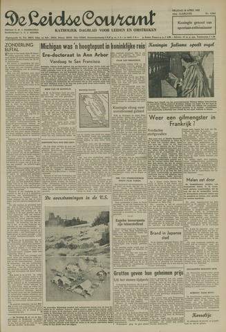 Leidse Courant 1952-04-18