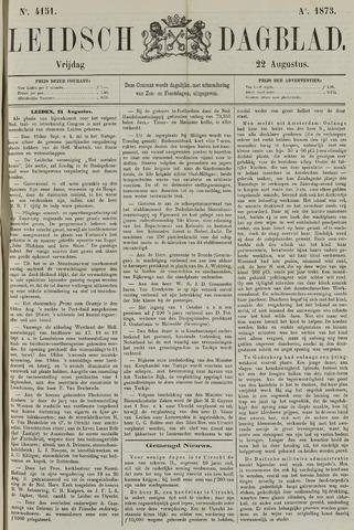 Leidsch Dagblad 1873-08-22