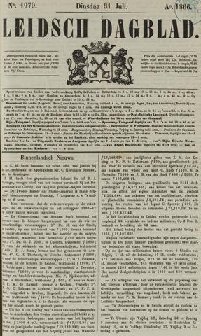 Leidsch Dagblad 1866-07-31