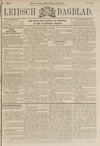 Leidsch Dagblad 1893-09-30