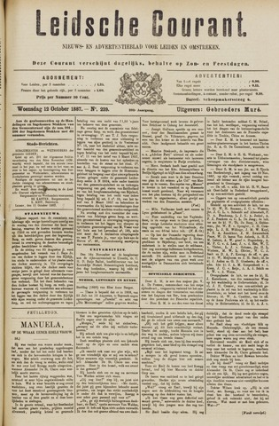 Leydse Courant 1887-10-12