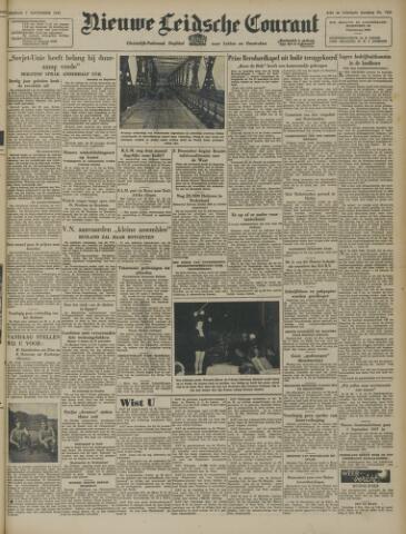Nieuwe Leidsche Courant 1947-11-07