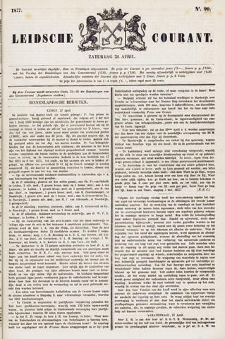 Leydse Courant 1877-04-28