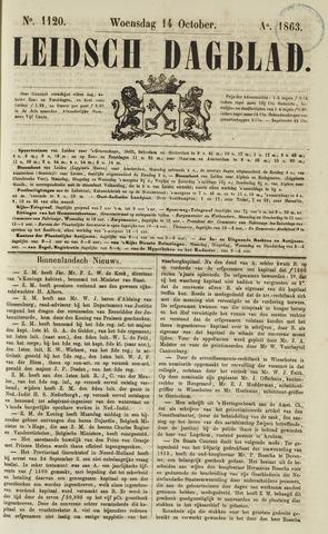 Leidsch Dagblad 1863-10-14