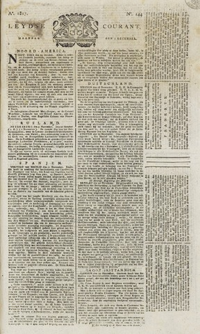Leydse Courant 1817-12-01