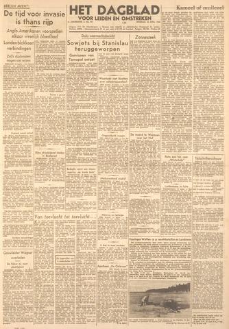 Dagblad voor Leiden en Omstreken 1944-04-18