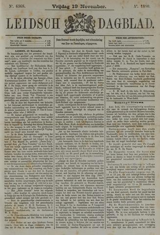 Leidsch Dagblad 1880-11-19