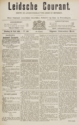 Leydse Courant 1885-06-30