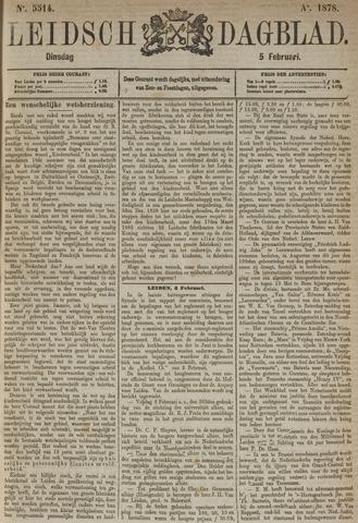 Leidsch Dagblad 1878-02-05