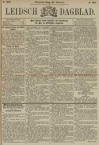 Leidsch Dagblad 1890-03-27