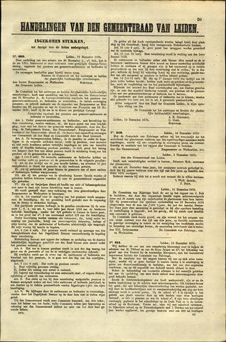 Handelingen van de Raad 1875-12-13