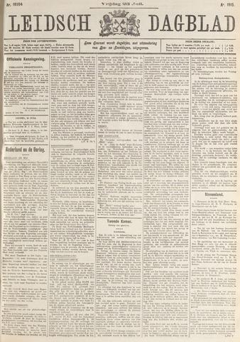 Leidsch Dagblad 1915-07-23