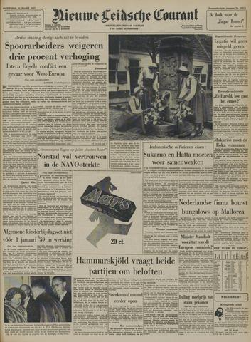 Nieuwe Leidsche Courant 1957-03-21