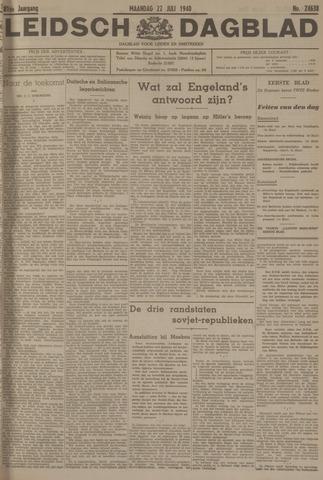 Leidsch Dagblad 1940-07-22