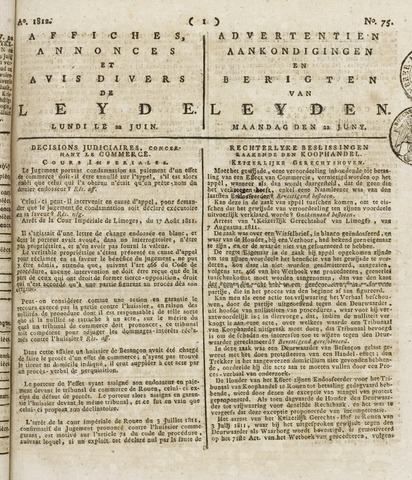 Leydse Courant 1812-06-22