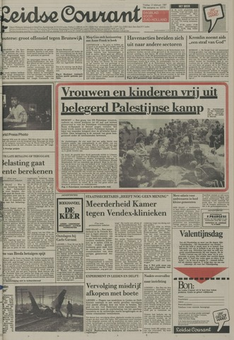 Leidse Courant 1987-02-13