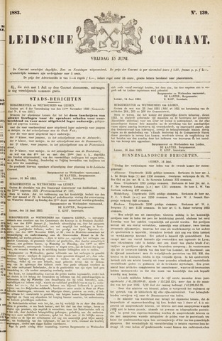 Leydse Courant 1883-06-15