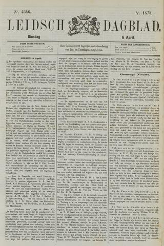 Leidsch Dagblad 1875-04-06