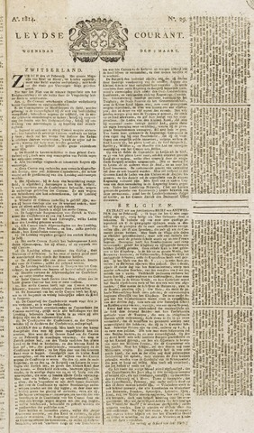 Leydse Courant 1814-03-09