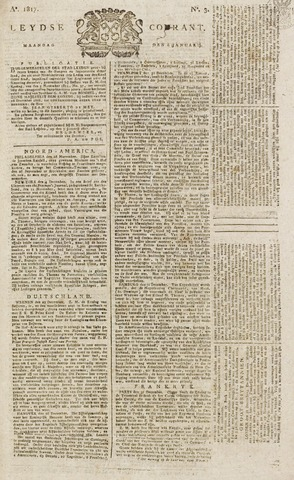 Leydse Courant 1817-01-06