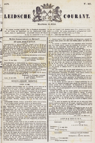 Leydse Courant 1879-07-14