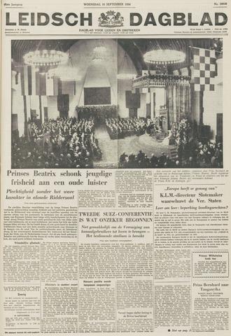 Leidsch Dagblad 1956-09-19