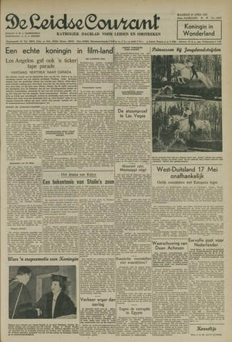 Leidse Courant 1952-04-21