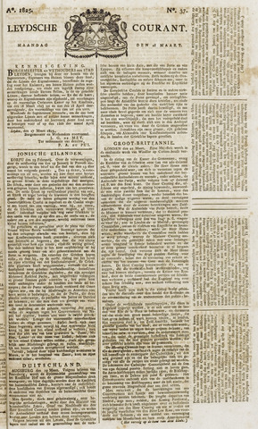 Leydse Courant 1825-03-28