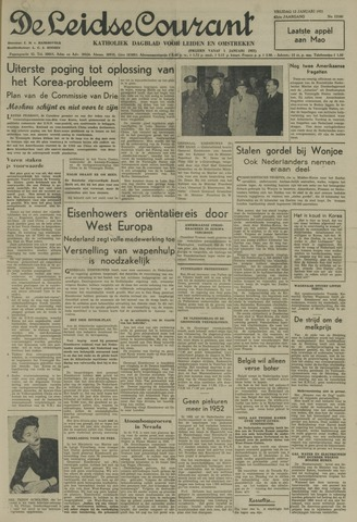 Leidse Courant 1951-01-12