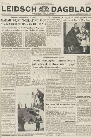 Leidsch Dagblad 1956-11-13