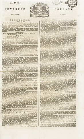 Leydse Courant 1841-05-24