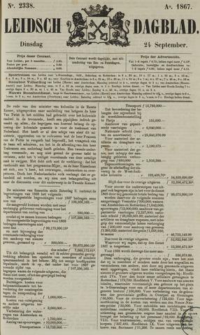Leidsch Dagblad 1867-09-24