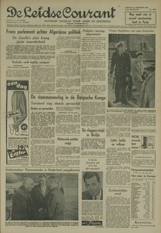 Leidse Courant 1959-10-16