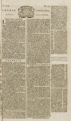 Leydse Courant 1819-12-27