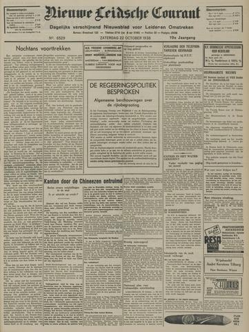 Nieuwe Leidsche Courant 1938-10-22