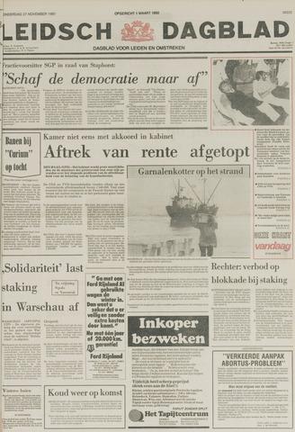 Leidsch Dagblad 1980-11-27