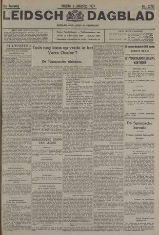 Leidsch Dagblad 1937-08-06