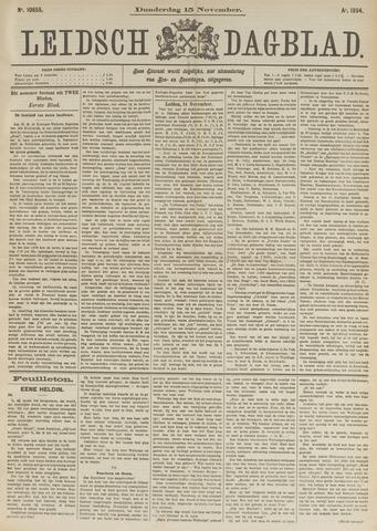 Leidsch Dagblad 1894-11-15