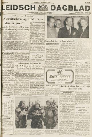 Leidsch Dagblad 1954-11-09