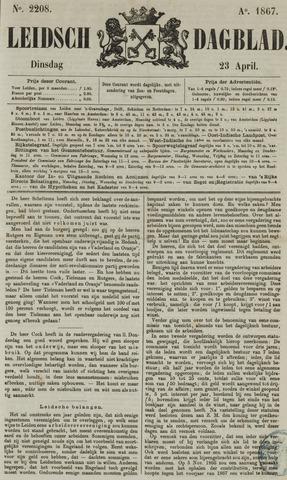 Leidsch Dagblad 1867-04-23